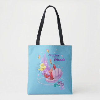 Adventure Begins With Friends Tote Bag