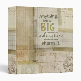 adventure binder