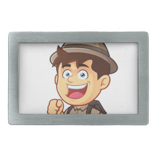 Adventure Boy Belt Buckles