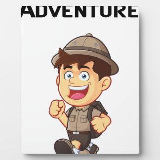 Adventure Boy Plaque