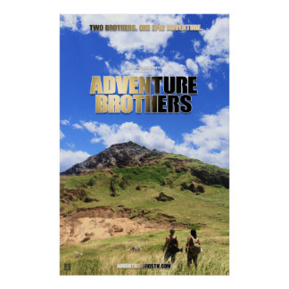 Adventure Brothers Poster