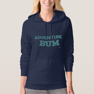 Adventure Bum Fleece Pullover Hoodie
