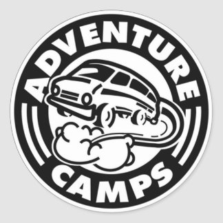 Adventure Camps Stickers