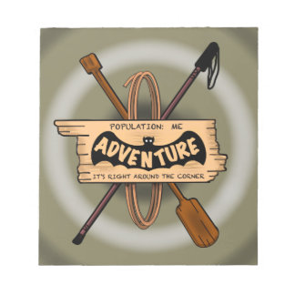 ADVENTURE CHALLENGE EMBLEM by Slipperywindow Notepad