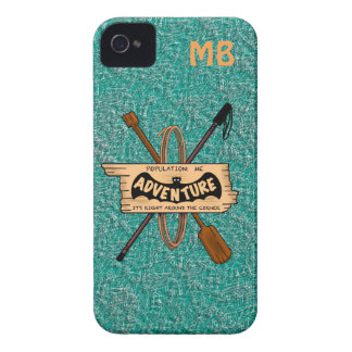 ADVENTURE CHALLENGE PERSONALIZE by Slipperywindow iPhone 4 Case