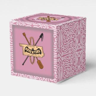 ADVENTURE CHALLENGE pink by Slipperywindow Favor Box