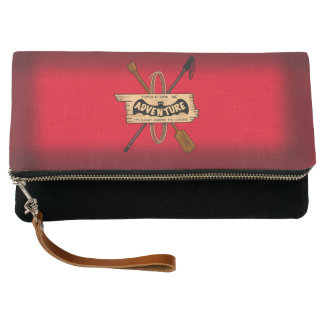 ADVENTURE CHALLENGE red by Slipperywindow Clutch