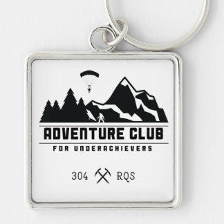 Adventure Club for Underachievers/304 keychain
