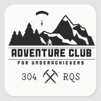 Adventure Club for Underachievers/304 RQS stickers