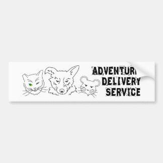 Adventure Delivery Service Bumper Sticker