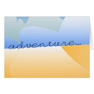 adventure in desert card