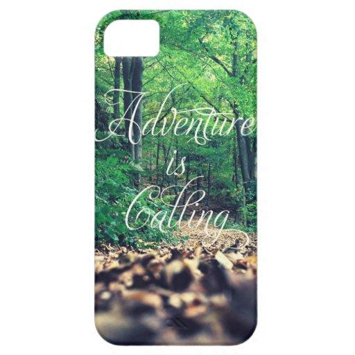 Adventure is calling iPhone 5 cases
