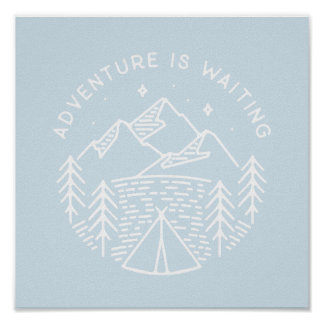 Adventure is Waiting Poster