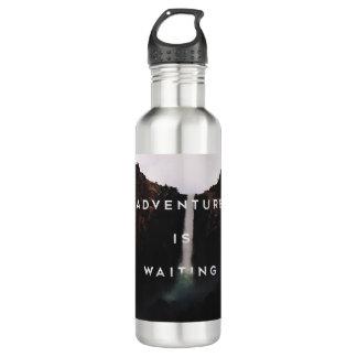 // Adventure is Waiting // Water Bottle