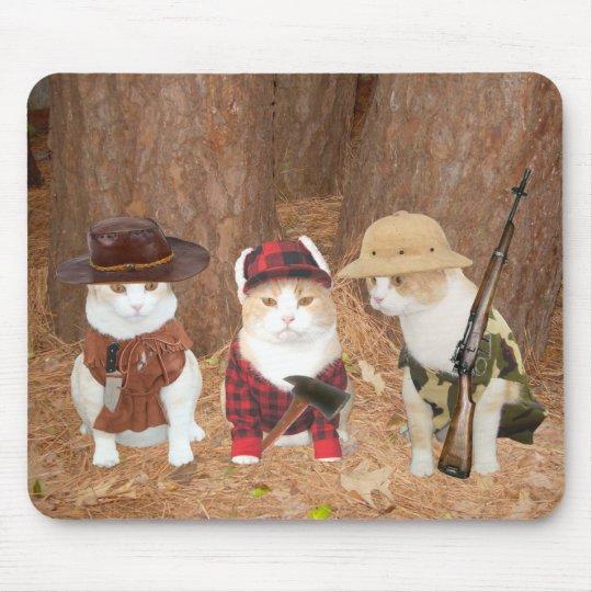 Adventure Kitties Mouse Pad