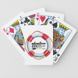 Adventure Life Ring Bicycle Playing Cards
