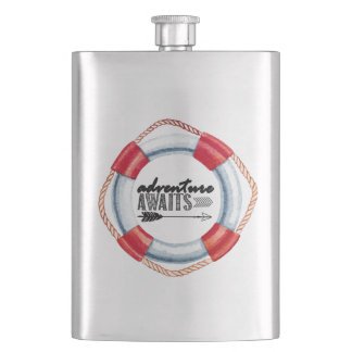 Adventure Life Ring Hip Flask