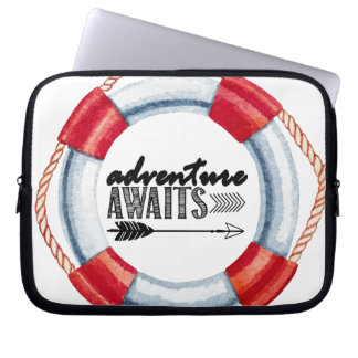 Adventure Life Ring Laptop Sleeve