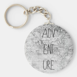Adventure map keychain