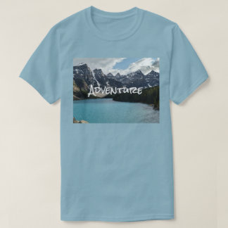 Adventure Outdoor Photo Climbing, Hiking, Kayaking T-Shirt
