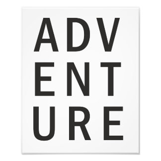 Adventure Photo Print