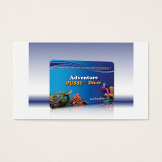 """Adventure PUSSI Diver"" Certification Card"