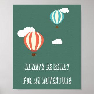 Adventure Quote Poster