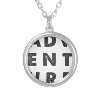 Adventure Silver Plated Necklace