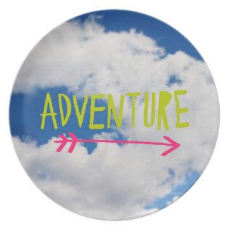 Adventure Sky Party Plate