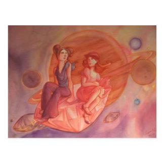 Adventure Through the Nebula Postcard