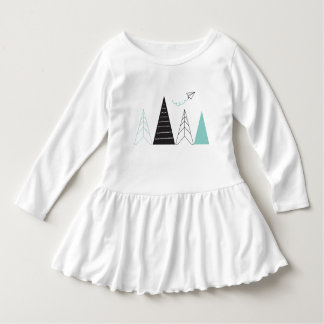 Adventure Toddler Ruffle Dress