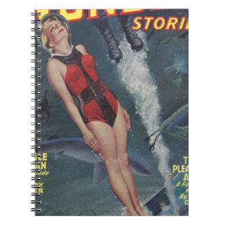 Adventure Underwater Spiral Note Book