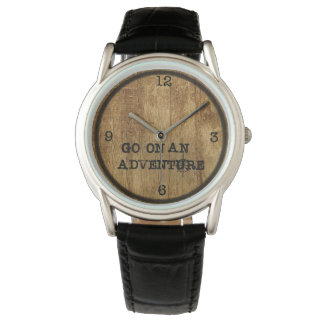 Adventure Watch|| Woodgrain Watch