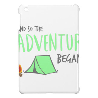 adventurebegan iPad mini cover