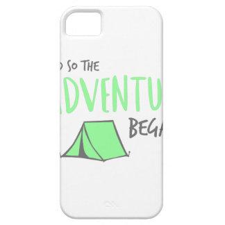 adventurebegan iPhone 5 cover