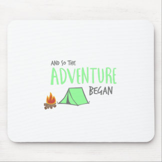 adventurebegan mouse pad
