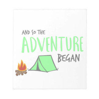 adventurebegan notepads
