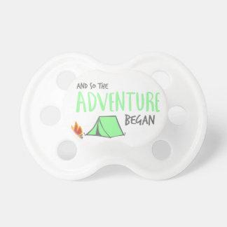 adventurebegan pacifiers