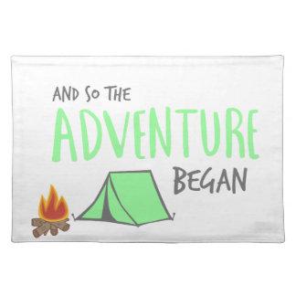 adventurebegan placemat