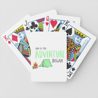 adventurebegan poker deck