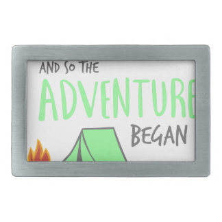 adventurebegan rectangular belt buckle