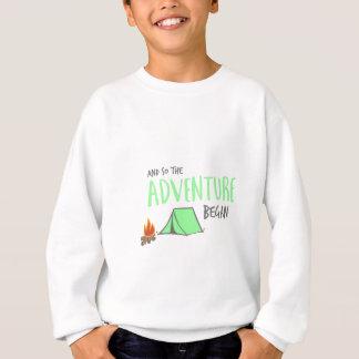 adventurebegan sweatshirt