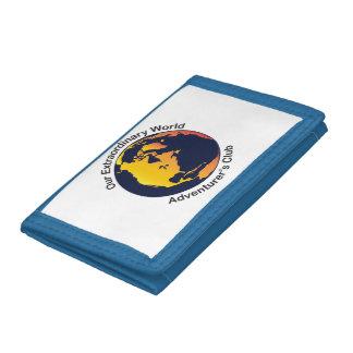 Adventurer Club Tri-fold Wallet