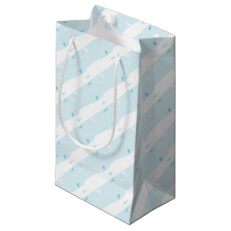 Adventurer Wrapping Paper Small Gift Bag
