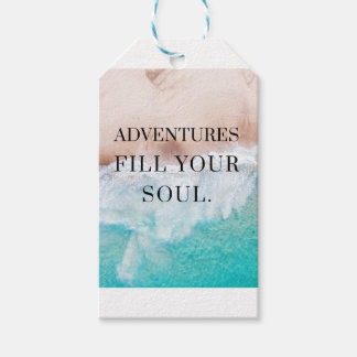 Adventures fill your soul gift tags