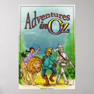 Adventures in Oz - Wizard Poster