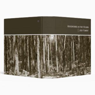 """Adventures in the Woods (1.5"""") Binder"""
