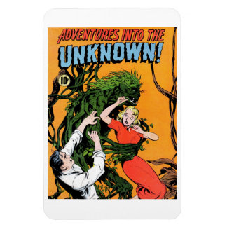 Adventures into the Unknown - Angry Plant Magnet