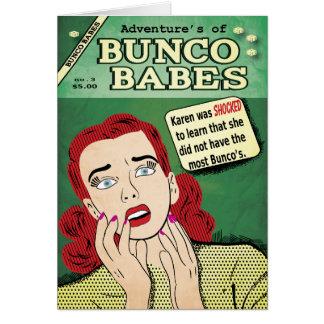 Adventures of Bunco Babes #3 - Karen was shocked! Card