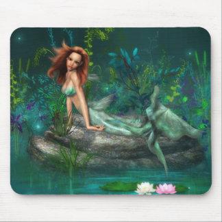 Adventurine Mermaid Mousepad